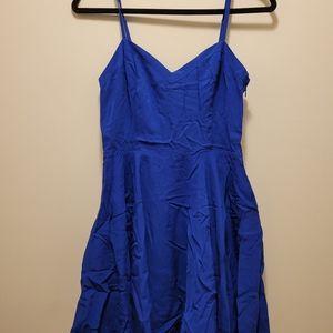 Aritzia Talulah Blue Lipinski dress